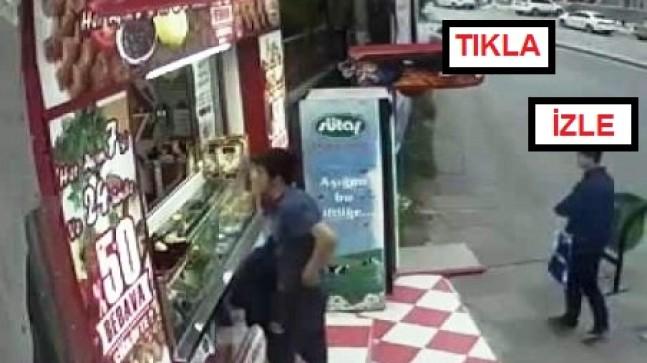Hırsız Kameralara Yakalandı