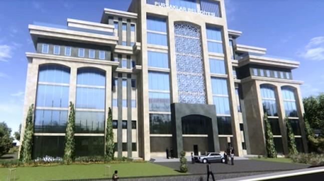 Pursaklar'a Yeni Belediye Binası