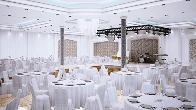 Modern Düğün Salonu Yapılacak